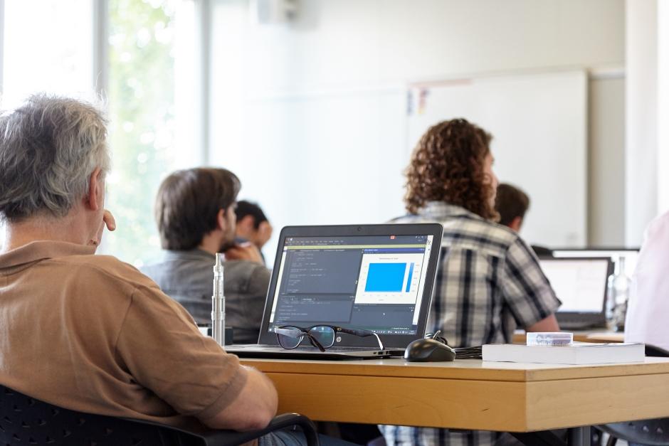 Machine Learning Workshop Photo