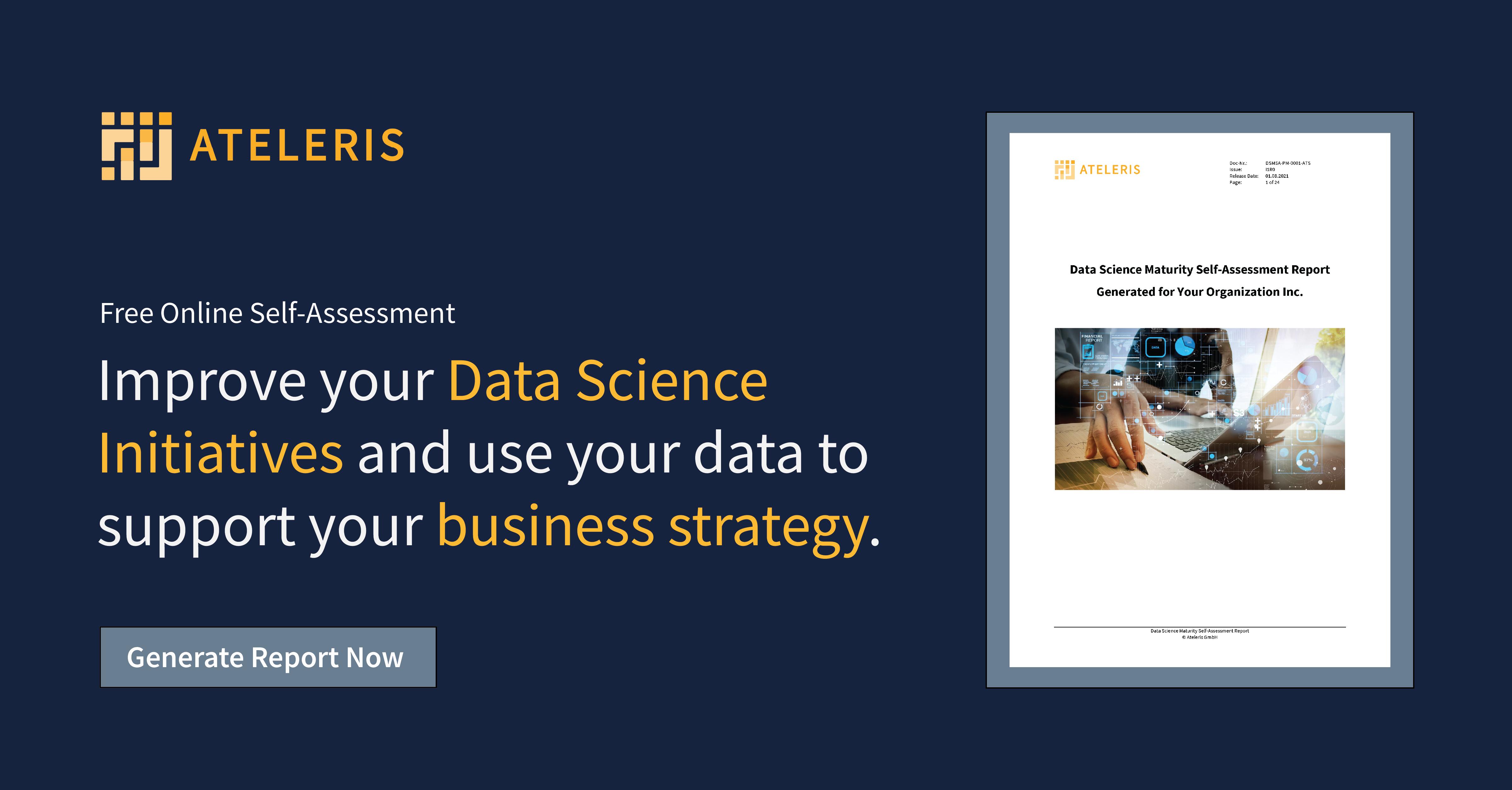 Data Science Maturity Flyer